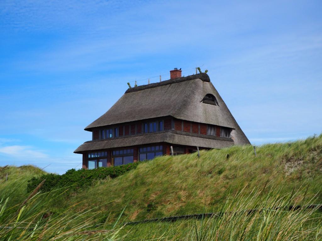Amrum Nordsee Insel Urlaub Strand Reetdach