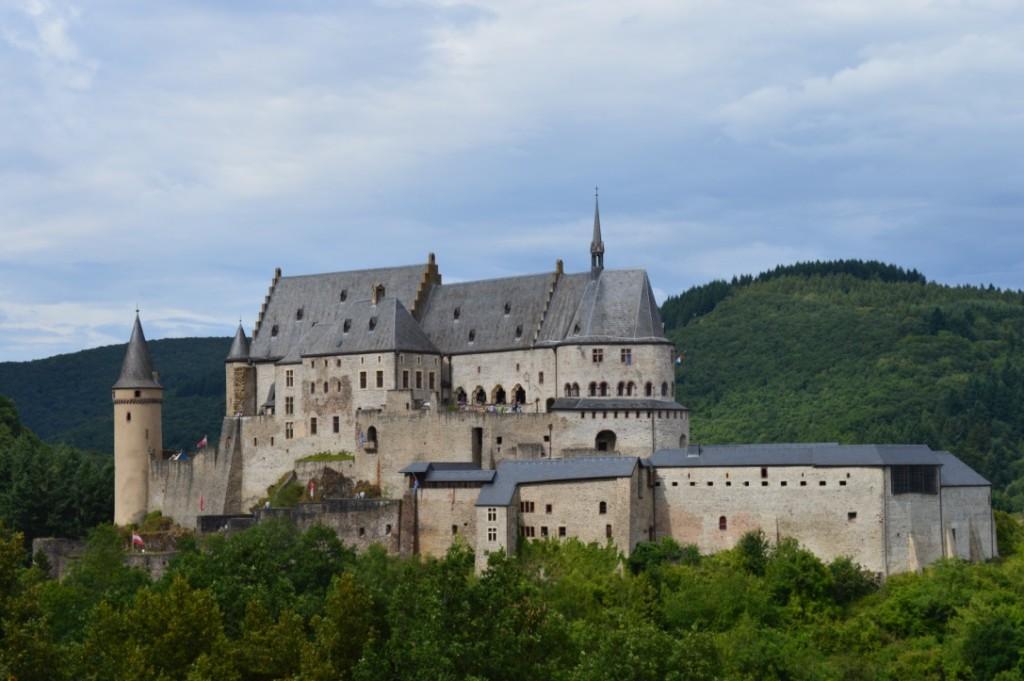 Schloss Vianden Luxemburg Familienurlaub