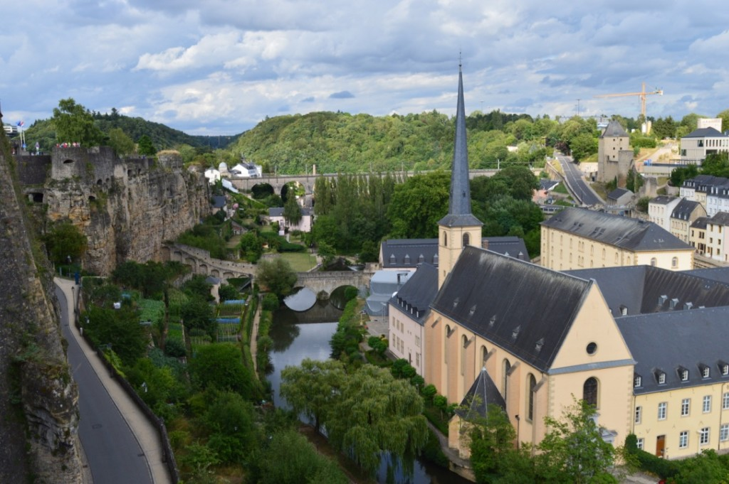 Familienurlaub Luxemburg Abtei Neumünster