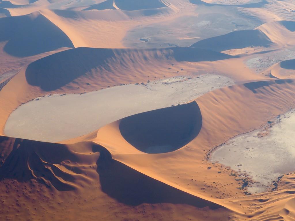 Flug Soussousfly Namibia Wüste Scenic flight bush birds Swakopmund