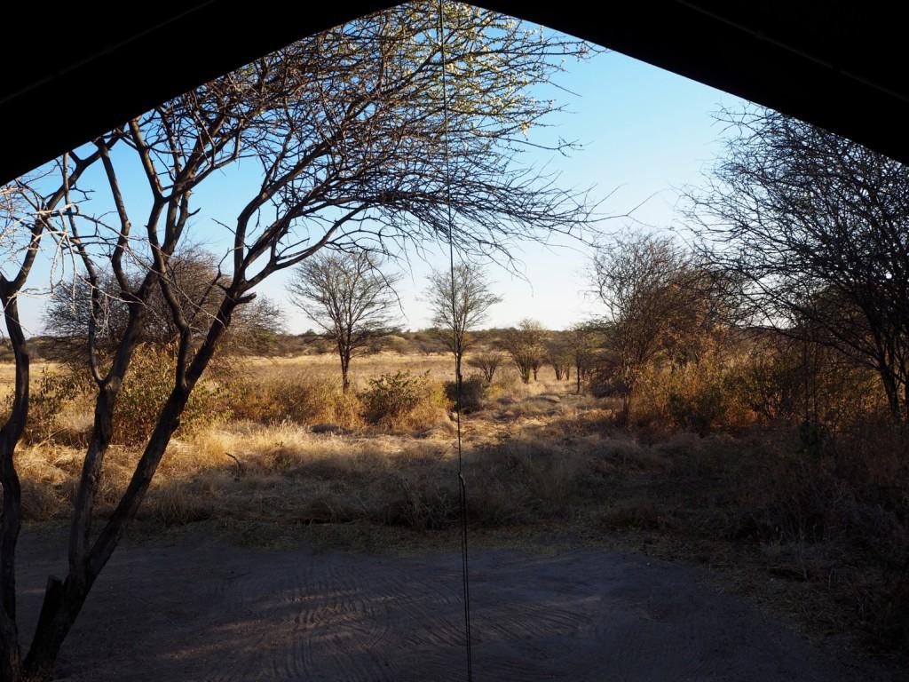 Bushmen camp Fiume Namibia Grootfontain Buschmänner San Safari lebendiges Museum Familienreise