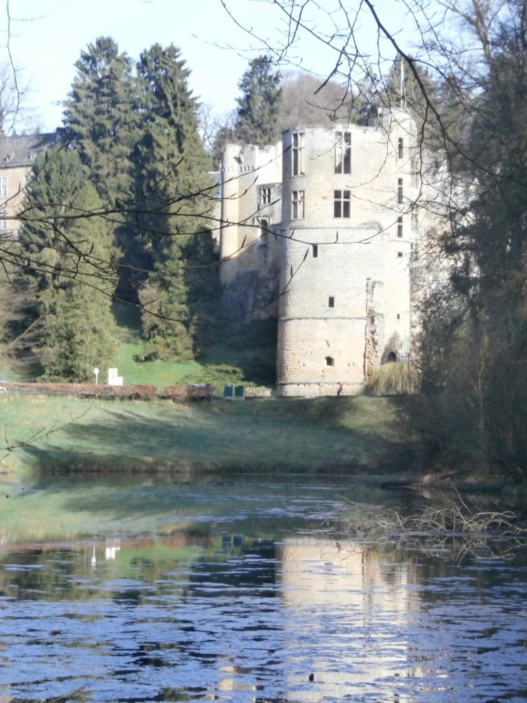 Luxemburg Schloss Beaufort Familienurlaub