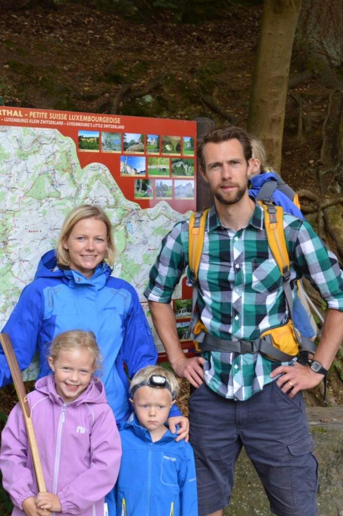 Wandern Müllerthal Luxemburg Familie Urlaub