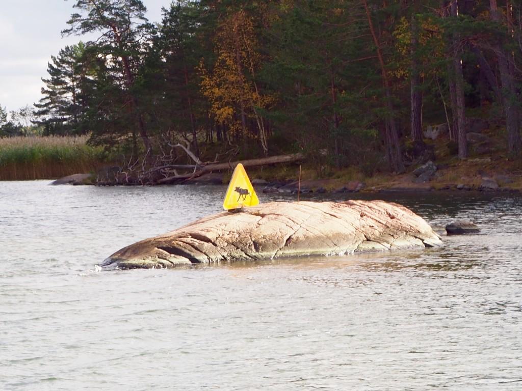 Smaland Schweden Elch Ostsee Västervik Schären Boot