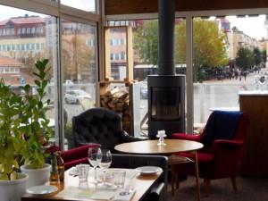 Restaurant Guldkant Västervik Smaland Schweden Hafen