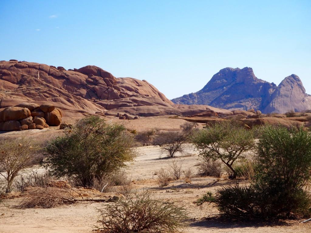 Namibia Spitzkoppe Sandpiste