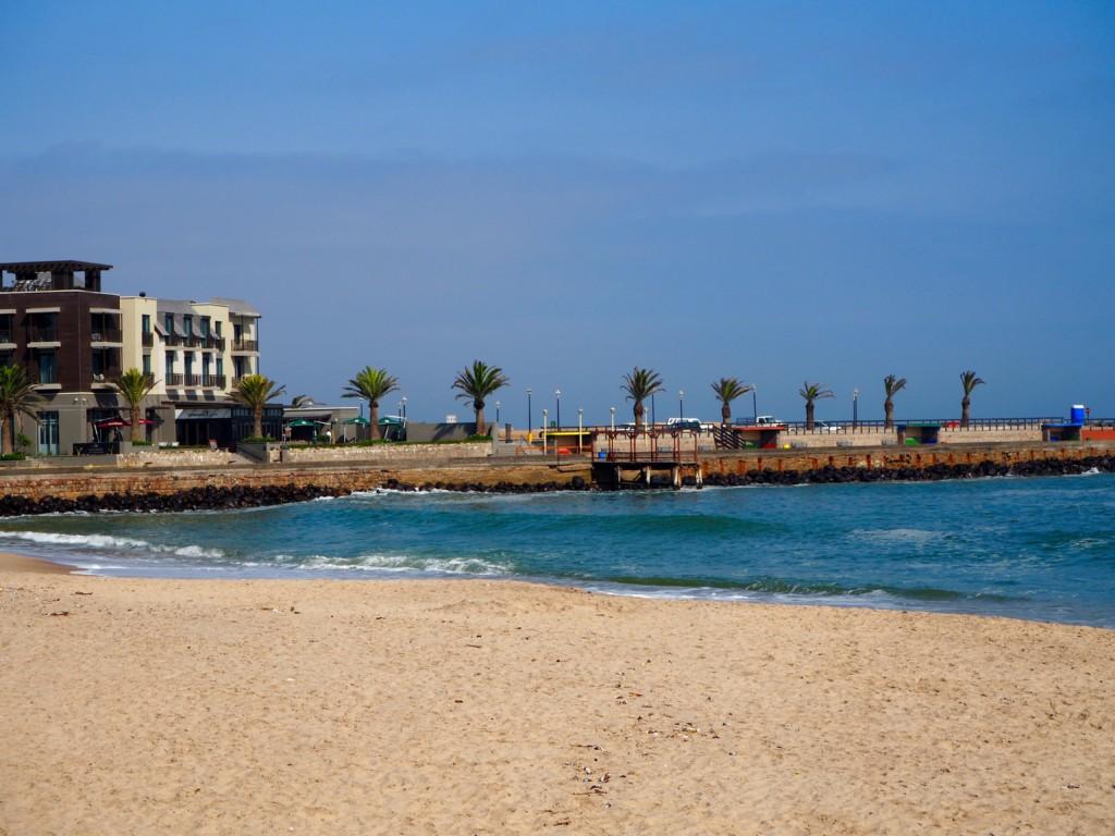 Namibia Swakopmund Hotel Atlantic Villa beach town