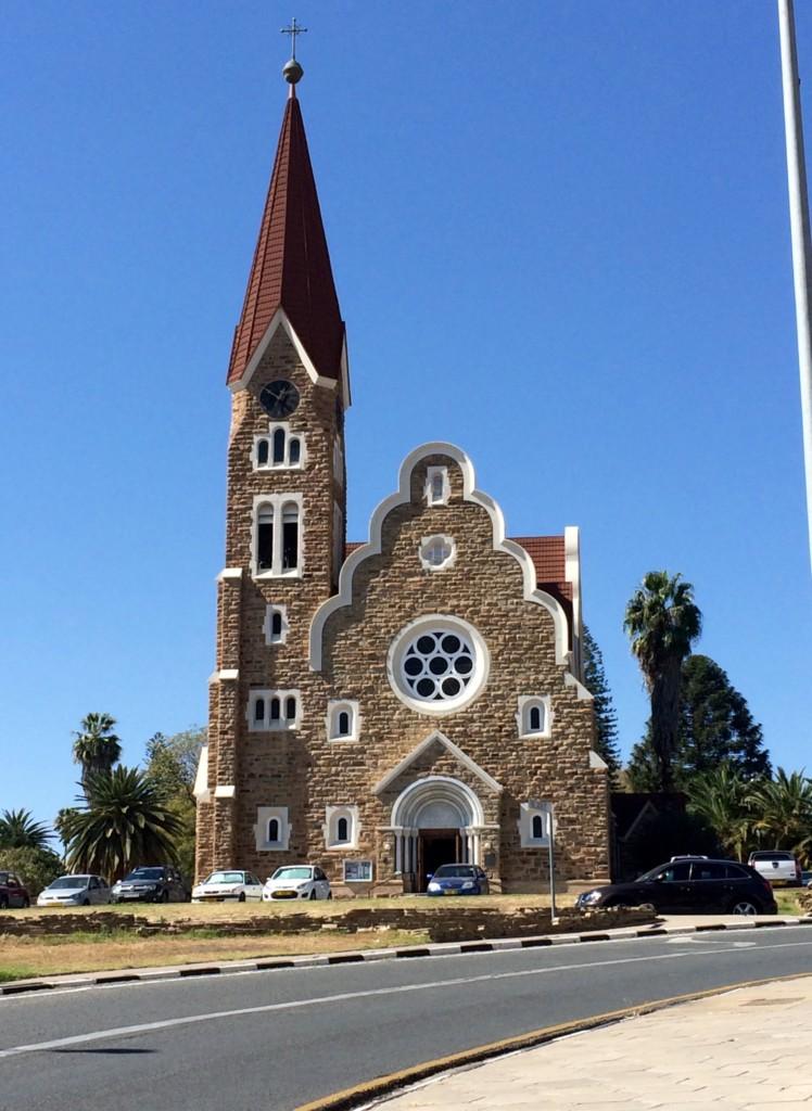 Windhoek Namibia Hauptstadt Afrika Christuskirche