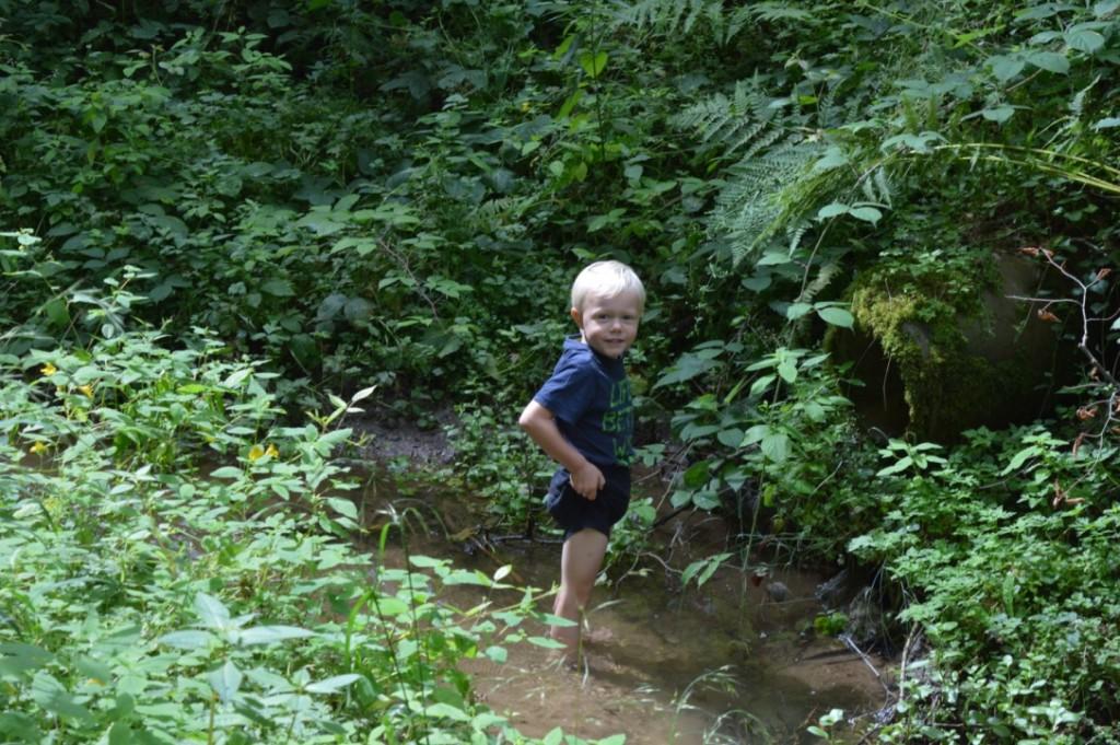 Wandern Müllerthal Luxemburg Familienurlaub