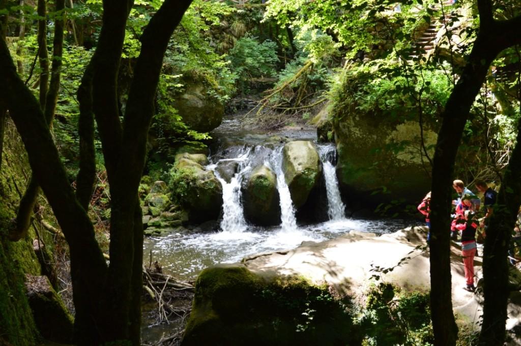 Wandern Müllerthal Luxemburg Wasserfall