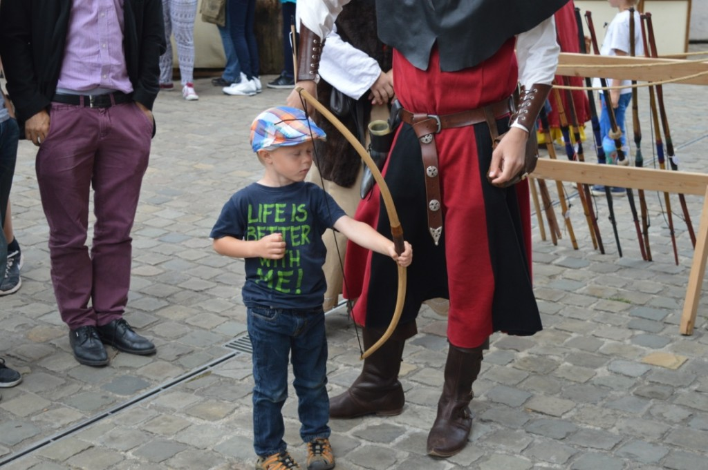 Schloss Vianden Luxemburg Familienurlaub Mittelalterfest